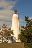Sandy Hook Light, 18th century Lighthouse, Gateway National Recreational Area, Sandy Hook, New Jersey