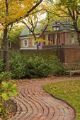 Winding Garden, Physick House, Hill-Keith-Physick House, Hill-Physick House, Hill-Physick-Keith House, Society Hill neighborhood, Philadelphia, Pennsylvania