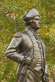 General Von Steuben Statue, Monmouth Battlefield State Park, American Revolutionary War, Manalapan, New Jersey