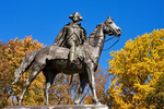 General Anthony Wayne Monument, American Revolutionary War Bronze Statue, Valley Forge National Historical Park, Pennsylvania
