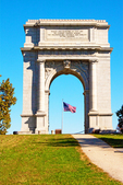 United States Memorial Arch, National Memorial Arch, American Revolutionary War, Valley Forge National Historical Park, Pennsylvania