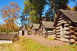 Washington's Personal Guard Huts, American Revolutionary War, Valley Forge National Historical Park, Pennsylvania
