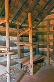 Interior of Washington's Personal Guard Huts, American Revolutionary War, Valley Forge National Historical Park, Pennsylvania