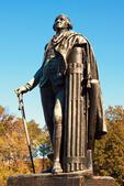General George Washington Statue, American Revolutionary War Bronze Statue, Valley Forge National Historical Park, Pennsylvania