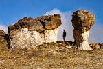 Mushroom Rocks on Tundra Trail, Rocky Mountain National Park, Colorado