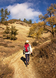 Young Girl at Loch Vale, Glacial Lake, Rocky Mountain National Park, Colorado