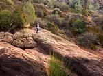 Young Boy Looking Through Scope, Rocky Mountain National Park, Colorado