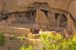 Oak Tree House, Ancestral Puebloan Cliff Dwelling, Mesa Verde National Park, Colorado