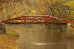 Footbridge over Delaware Canal, Washington Crossing Historic Park, Upper Makefield Township, Washington Crossing, Pennsylvania