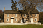 Thompson-Neely House, 18th Century Colonial Architecture, Washington Crossing Historic Park, Upper Makefield Township, Pennsylvania