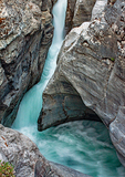 Maligne Canyon of the Maligne River, Palliser Formation, Canadian Rockies, Jasper National Park, Alberta, Canada