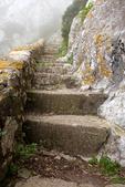 Mediterranean Steps, Stone Steps Trail, Upper Rock Nature Reserve, Rock of Gibraltar, United Kingdom, Great Britain