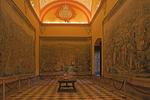 Tapestry Room, Salones de Carlos V, Royal Palace Alcazar, Sevilla, Andalucia, Spain
