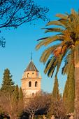 Church of Santa Maria de la Encarnacion of the Alhambra, 16th Century Renaissance Architectural Style, The Alhambra, Granada, Andalucia, Spain