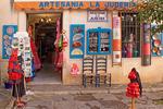 Artesania la Juderia Store, Barrio de Santa Cru, Jewish Quarter, Old Judería, Sevilla, Seville, Andalucia, Spain
