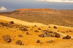 Los Huevos del Teide, Eggs of Teide, Basalt Boulders, La Fortaleza, Rocks of the Fortress, Leftover Caldera Wall, Red Basalt, Teide National Park, Island of Tenerife, Canary Islands, Spain