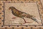 Bird Mosaic, Hispania Baetica, Italica, 2nd Century Roman City, Santiponce, Sevilla, Seville, Andalucia, Spain