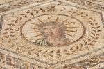 Helios Mosaic, House of the Planetarium, Casa del Planetario, Planetarium House, Hispania Baetica, Italica, 2nd Century Roman City, Santiponce, Sevilla, Seville, Andalucia, Spain
