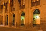 City Hall at Night, Ayuntamiento, San Cristobal De La Laguna, Island of Tenerife, Canary Islands, Spain