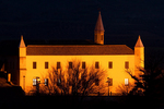 University of Osuna at Night, Universidad de Osuna, College-University of the Immaculate Conception in Osuna, Colegio-Universidad de la Purísima Concepción en Osuna, 16th Century Architecture, Osuna, Andalucia, Spain