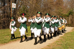 Fife and Drum Musicians Marching, Minuteman National Historical Park,  Lexington, Concord, Massachusetts