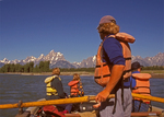 Float Ride on Snake River, Teton Mountain Range, Grand Teton National Park, Wyoming