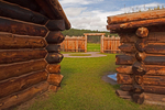 Gordon Stockade, Custer State Park, Black Hills, South Dakota
