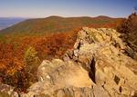 View from Bettys Rock, Blue Ridge Mountains, Shenandoah National Park, Virginia