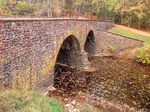 Stone Bridge over Bull Run River, Deck Arch Bridge, Manassas National Battlefield Park, American Civil War, Virginia