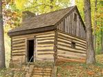 Slave Cabin, Michie Tavern, Charlottesville, Virginia