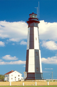 Fort Story Lighthouse, New Cape Henry Light, Virginia Beach, Virginia