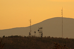 Radio Towers on Bear Den Mountain, Blue Ridge Mountains, Shenandoah National Park, Virginia