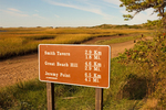 Trail Sign, Great Island, Cape Cod National Seashore, Wellfleet, Massachusetts