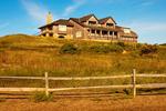 Mansion, Great Island Trail, Cape Cod National Seashore, Wellfleet, Massachusetts