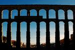 Roman Aqueduct of Segovia, Segovia, Spain