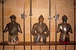 Armor in Armory, Alcazar of Segovia, Segovia, Spain