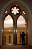 Boy at Windows, Hall of Kings, Monarchs Room, Alcazar of Segovia, Segovia, Spain