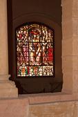 Henry 2 Stained Glass Window, Gallery Room, Galera Hall, Alcazar of Segovia, Segovia, Spain