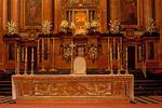 Altar in Christian Chapel, Renaissance Architecture, Mezquita Catedral de Córdoba, Mezquita de Córdoba, Mezquita, Great Mosque of Córdoba, 8th Century Renaissance Architecture, Andulucia, Cordoba, Spain