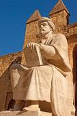 Averroes Statue, Ibn Rushd Statue, Andulucia, Cordoba, Spain
