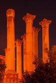 Roman Temple of Cordoba at Night, Andulucia, Cordoba, Spain