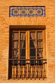 Window of Salus Infirmary, Andulucia, Cordoba, Spain