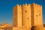 Calahorra Tower Fortified Gate, Roman Bridge, Mezquita, 12th Century Islamic Architecture, Andulucia, Cordoba, Spain