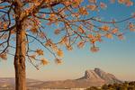 Pena de los Enamorados, The Lovers Rock, Cordillera Penibetica, Antequera, Malaga Province, Andalusia, Spain