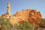 Dinosaur Spire and Erosional Rock Formation, Kodachrome Basin State Park, Cannonville, Utah
