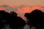 Sunset on the Sierra Nevada, Sierra Nevada National Park, Province of Granada, Andalucia, Spain