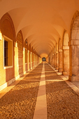 Interior Corridors, Royal Palace of Aranjuez, Palace Real, 17th Century Renaissance Architecture, Royal Estate of the Crown of Spain, Community of Madrid, Aranjuez, Spain