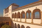 Generalife Palace, Palacio de Generalife, The Alhambra, Granada, Andalucia, Spain