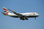 British Airways Airplane Flying