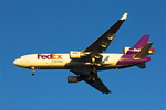 Fed Ex Airplane Flying